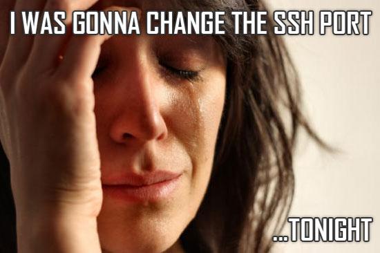 Change SSH Port